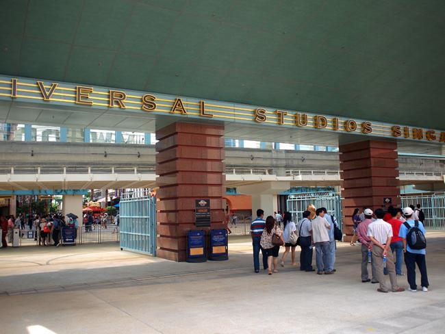 entrance Universal studio singapore