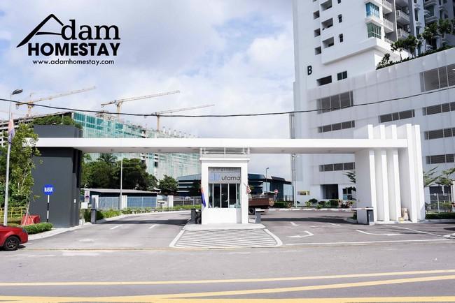 kemudahan parking khas untuk penginap homestay johor bahru