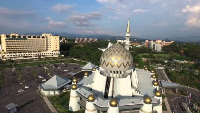 masjid negeri sabah dalam pakej percutian