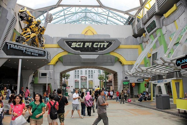 sci fi zone pakej universal studio singapore