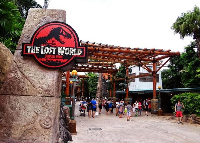 the lost world zone pakej universal studio singapore