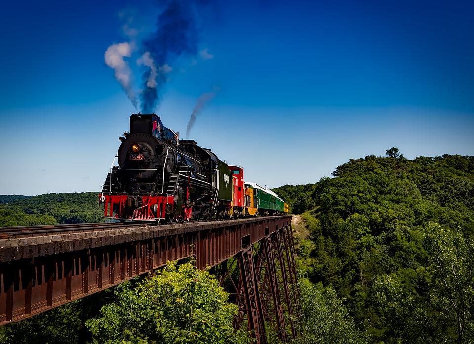 10 Percutian Keretapi dangan Pemandangan Paling Cantik